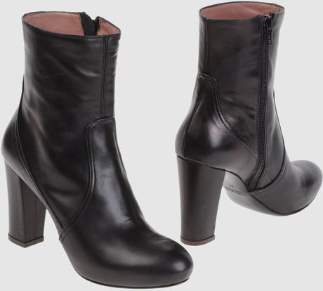 Pierre Darre' Ankle Boots in Gray (lead) - Lyst