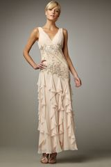 Sue Wong Embellished Gown - Lyst