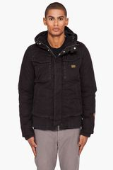 G-star Raw Hooded Field Bomber Jacket - Lyst