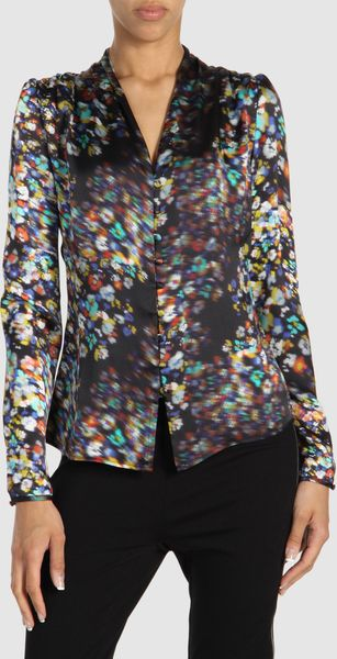 Halston Long Sleeve Shirts - Lyst