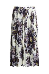 Suno Scattered Floral Print Skirt