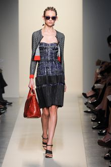 Bottega Veneta Spring 2012 Glazed Crocodile Handbag  - Lyst