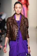 Bottega Veneta Spring 2012 Purple Glazed Crocodile Travel Bag in Purple - Lyst