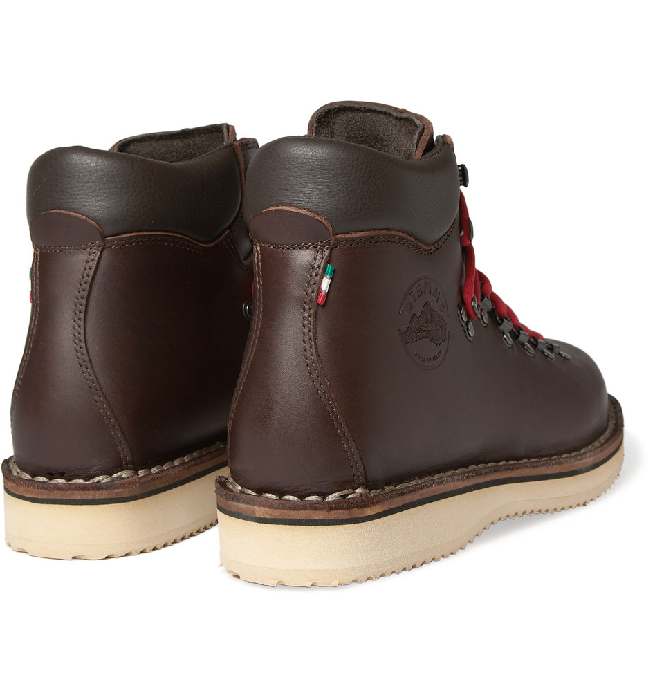 diemme roccia vet leather boots in brown for lyst