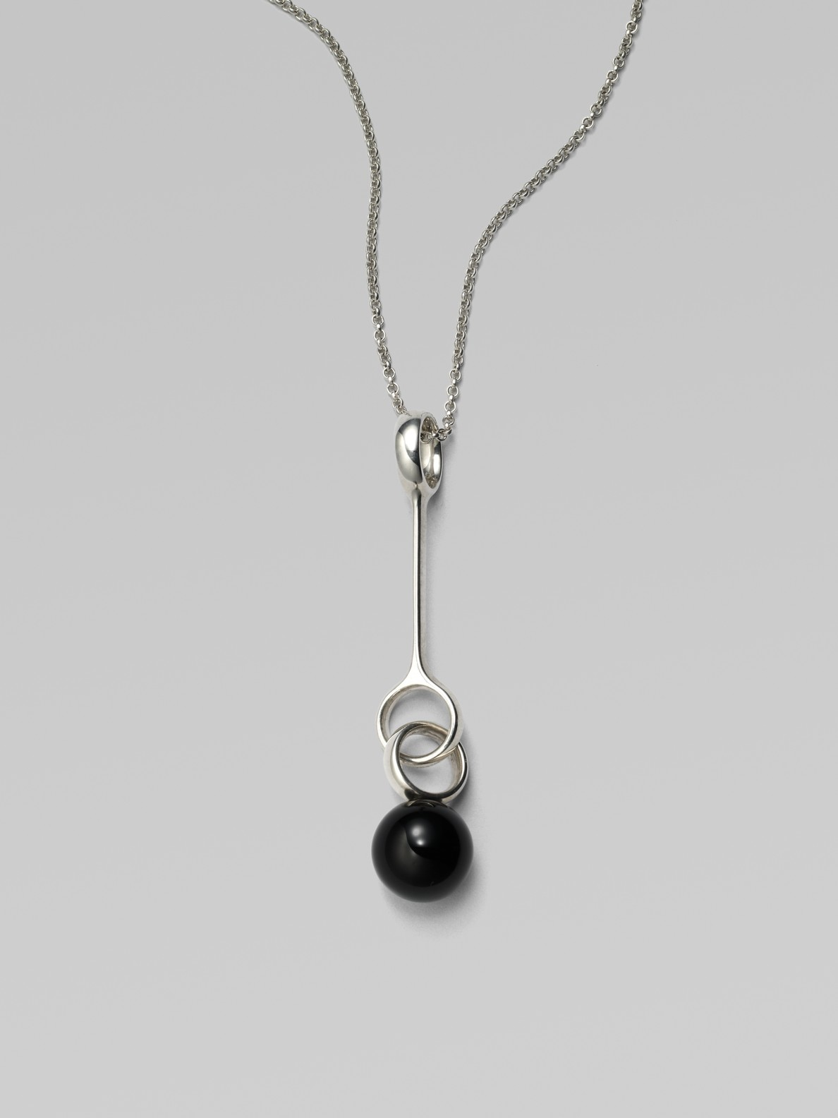 Silver Ball Georg Jensen Pendant Of The Year 2011 w