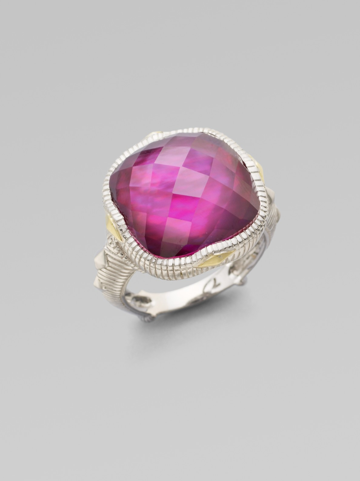 Lyst Judith Ripka Pink Corundum Mother Of Pearl