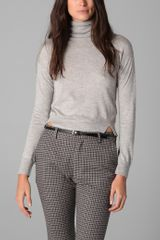 Girl. By Band Of Outsiders Turtleneck Sweater - Lyst