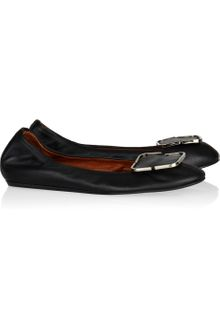Lanvin Leather Ballet Flats - Lyst