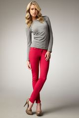 Rag & Bone The Legging Jeans, Magenta - Lyst