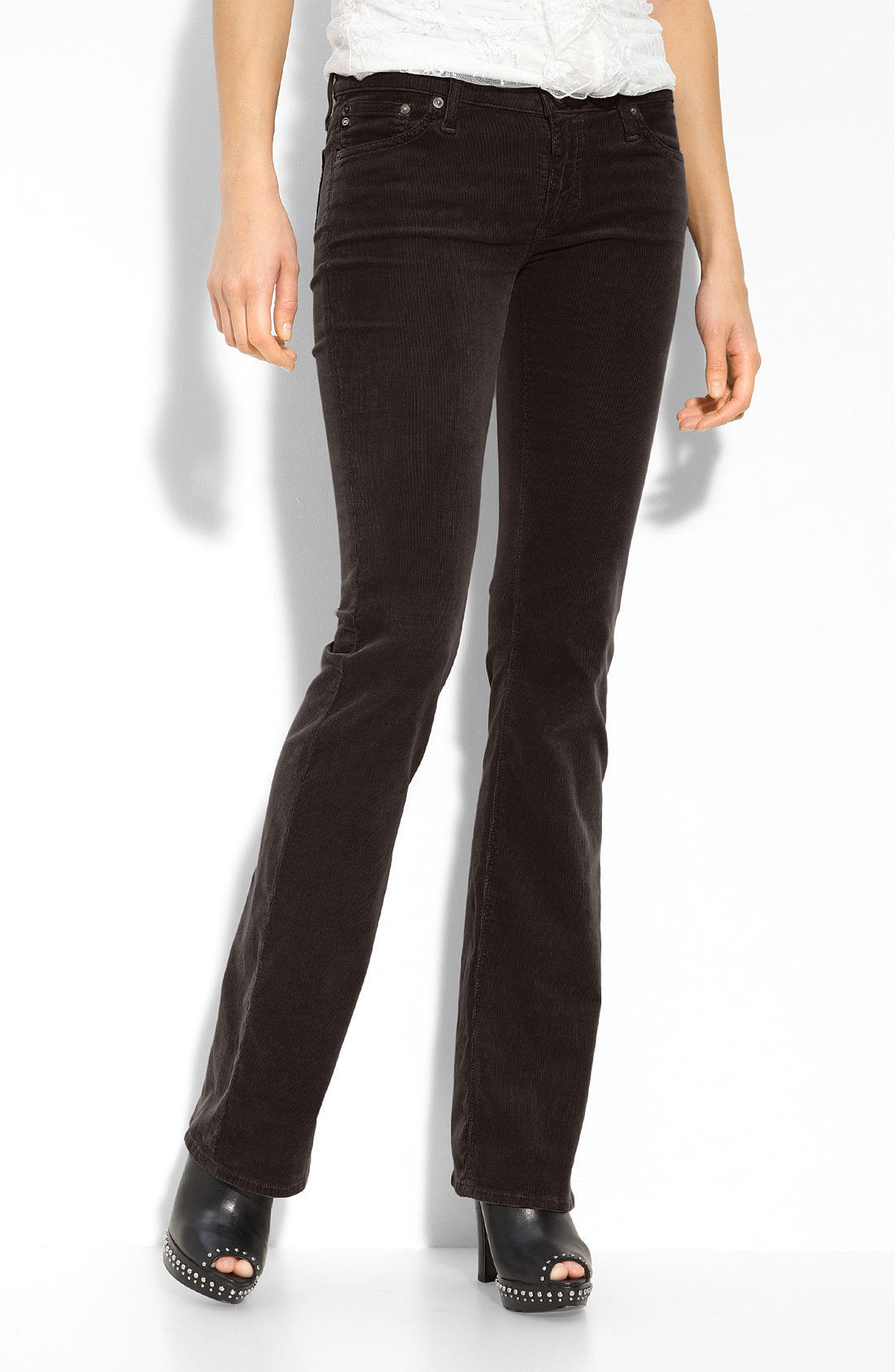 Popular Nydj Barbara Bootcut Corduroy Pant In Multicolor  Lyst