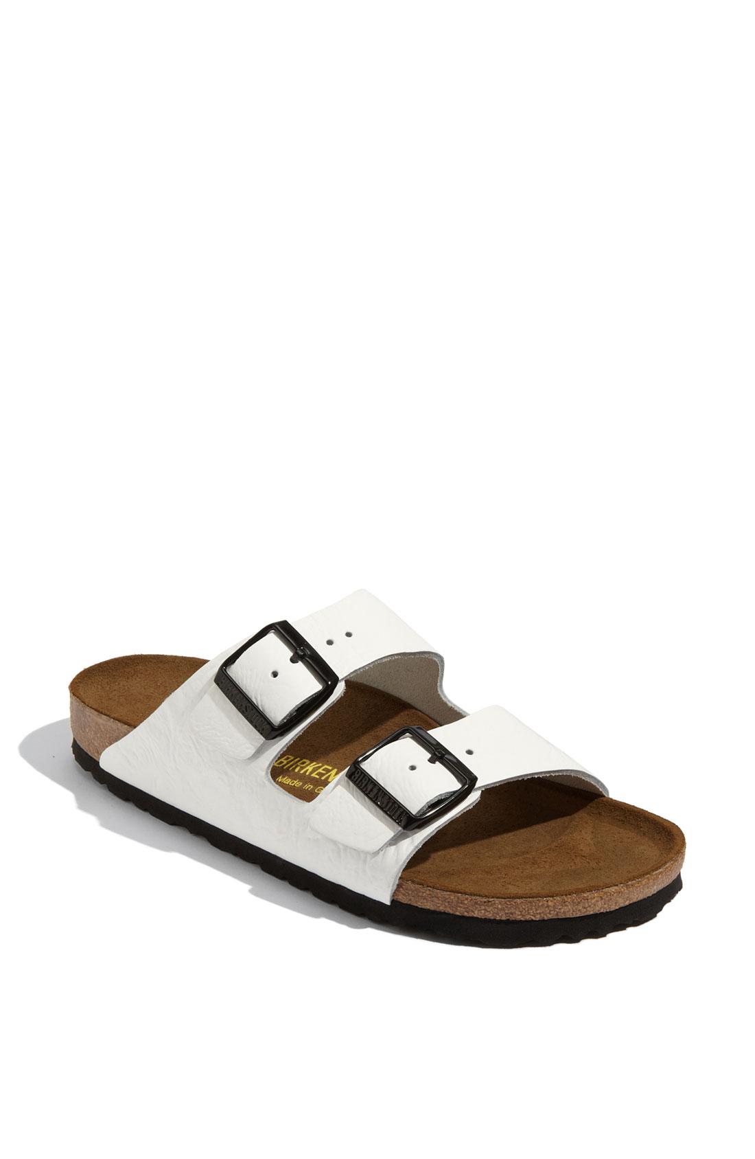 Unique  Womens  Birkenstock  Birkenstock Mayari Sandals White Patent