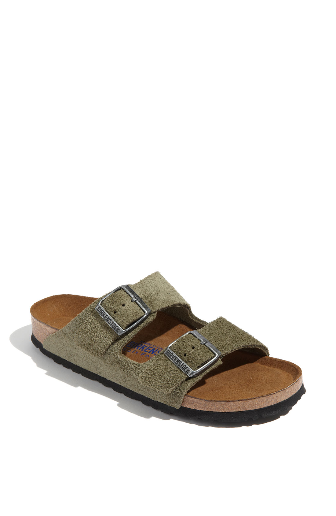 green birkenstock arizona