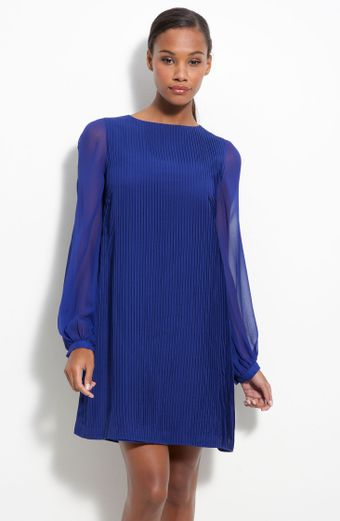Julie Dillon Chiffon Shift Dress - Lyst