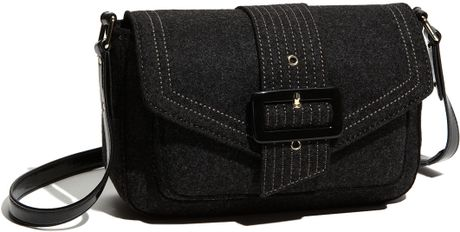 Kate Spade Walker Park Raleigh Crossbody Bag in Gray (charcoal)