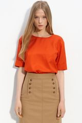 Marc By Marc Jacobs Silk Blouse - Lyst