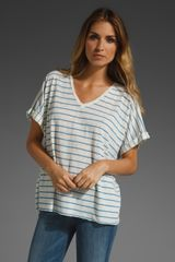 Rag & Bone The Oversized V-neck Tee - Lyst