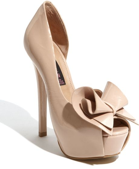 Steven By Steve Madden Rosale Pump in Pink (blush patent) - Lyst
