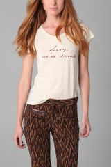 Elizabeth And James Statement Tee - Lyst