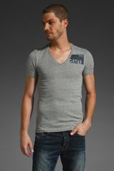 G-star Raw Kenmore Short Sleeve V-neck Tee - Lyst