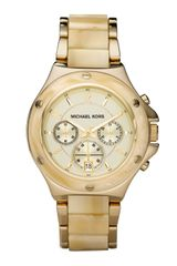 Michael Kors Horn Chronograph Watch - Lyst