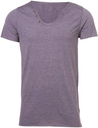 Topman Purple Phlume Open Raw Notch - Lyst