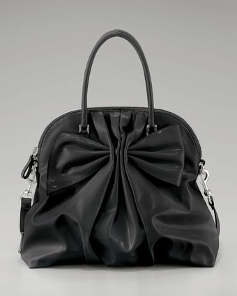 Valentino Double-handle Bow Bag - Lyst