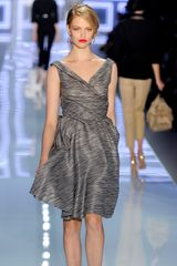 Dior Spring 2012 Gray Sheer Layered Grace Kelly Dress  - Lyst