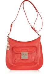 DKNY Leather Shoulder Bag - Lyst