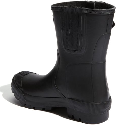 Hunter Bennie Rain Boot In Black For Men Lyst