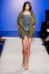 Isabel Marant Spring 2012 Gray TieDye Jersey Mini Dress in Gray - Lyst