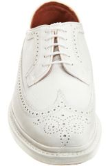 Florsheim By Duckie Brown The Brogue in White for Men - Lyst