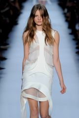 Givenchy Spring 2012 White Structured See Through Mini Dress in White - Lyst