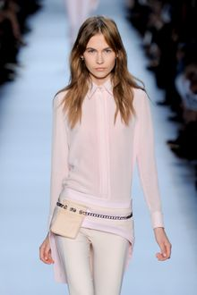 Givenchy Spring 2012 Truncated Shirttail In Pink - Lyst