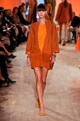 Hermes Spring 2012 Orange Open-Toe Sandals - Lyst