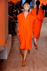 Hermes Spring 2012 Orange Tunic Dress