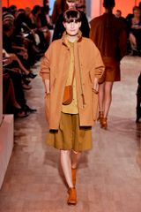 Hermes Spring 2012 Green Full Skirt