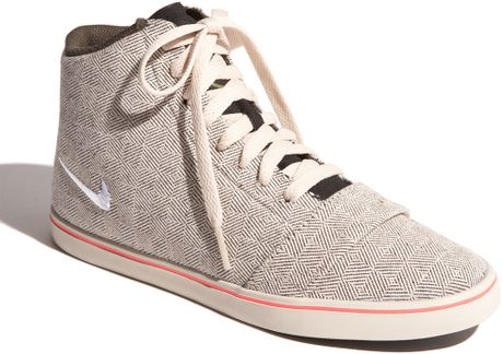 Nike 6.0 Balsa Mid Lite High Top Sneaker in Gray (birch/sable green/black) - Lyst