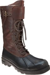 Ralph Lauren Buckle Duck Boot - Lyst
