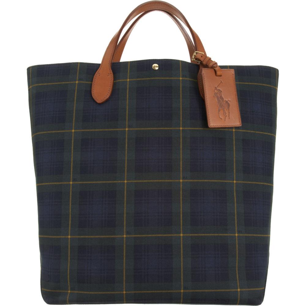 42d9ed02af Ralph Lauren Medium Tartan Tote Bag for Men - Lyst