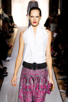 Yves Saint Laurent Spring 2012 Runway Look 9 - Lyst