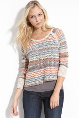 Free People Lost in The Forest Crop Pullover - Lyst