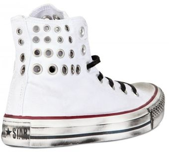 Converse Fleece Stars High Sneakers - Lyst