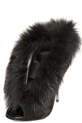 Diego Dolcini 120 Mm Suede and Fox Fur Boots in Black - Lyst