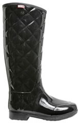 Hunter Quilted Rubber Boots - Lyst