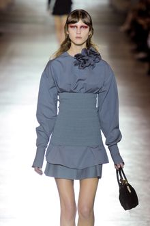 Miu Miu Spring 2012 Dress with Exaggerated Sleeves  - Lyst