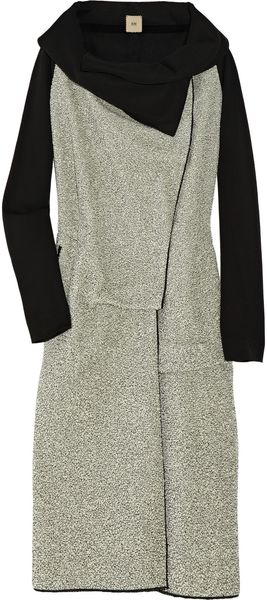 RM By Roland Mouret Balam Crepe and Bouclé Jacket - Lyst