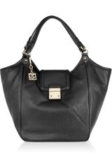 DKNY Leather Tote - Lyst