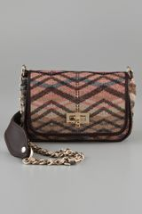 M Missoni Metallic Cross Body Bag - Lyst