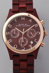 Marc By Marc Jacobs Henry Wine Aluminum Watch - Lyst