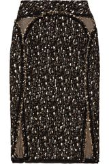 Zac Posen Bouclé Pencil Skirt - Lyst